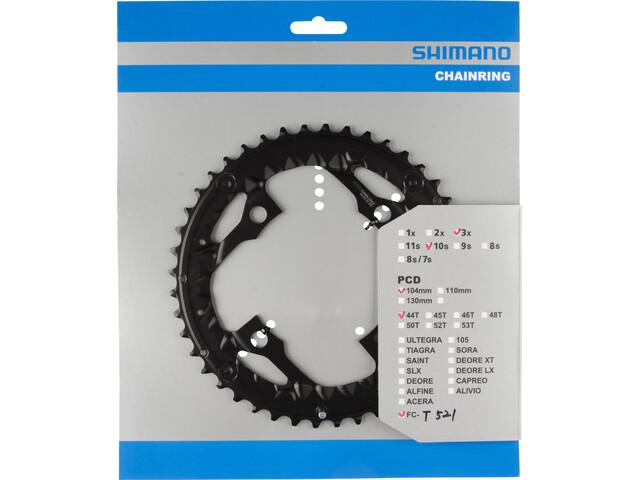Shimano Trekking FC-T521 Plateau AE 10 vitesses, black